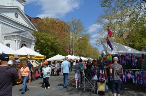 SpringFest Street Fair, photo courtesy of Nyack Chamber of Commerce