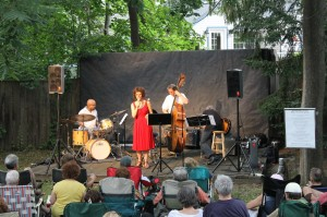 Music in the Garden Jazz Series, photo courtesy of Edward Hopper House