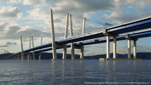 Artist's rendering of New NY Bridge